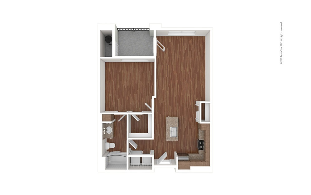 A1 1 bedroom 1 bath 751 square feet (1)