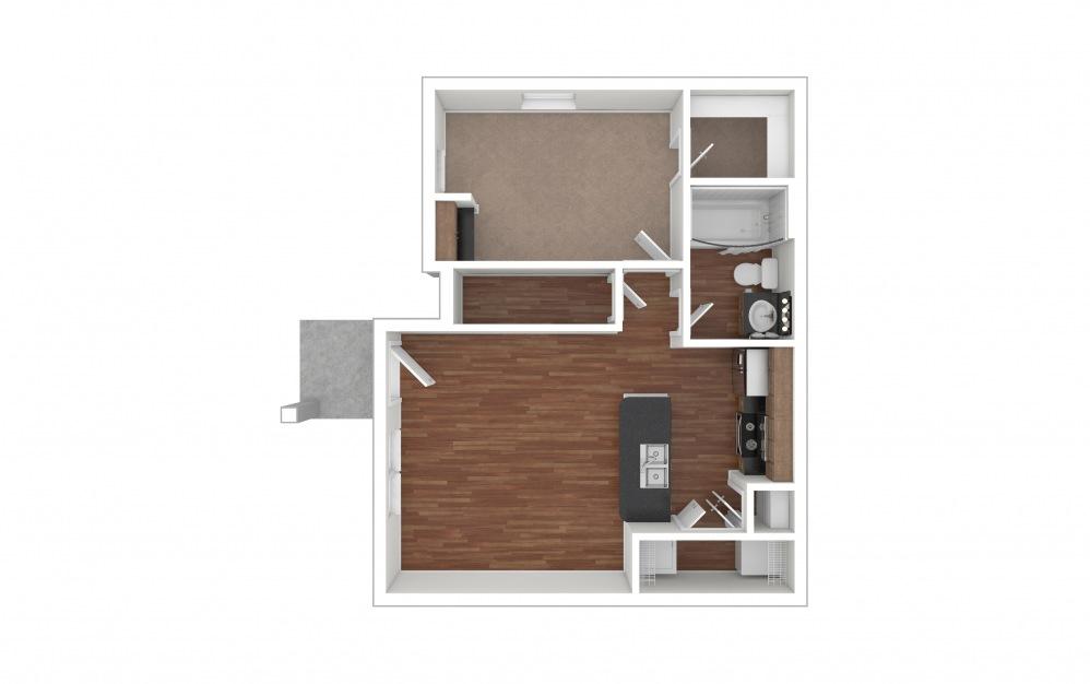 A1 - Bastrop 1 bedroom 1 bath 650 square feet (1)