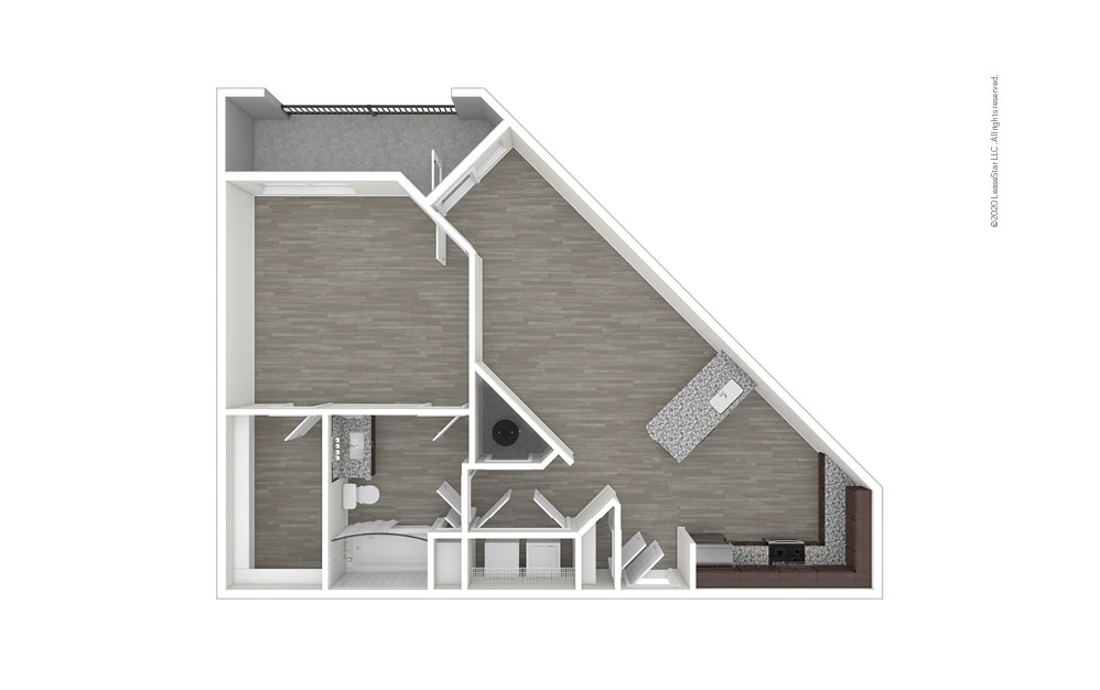 A5 1 bedroom 1 bath 981 square feet (1)