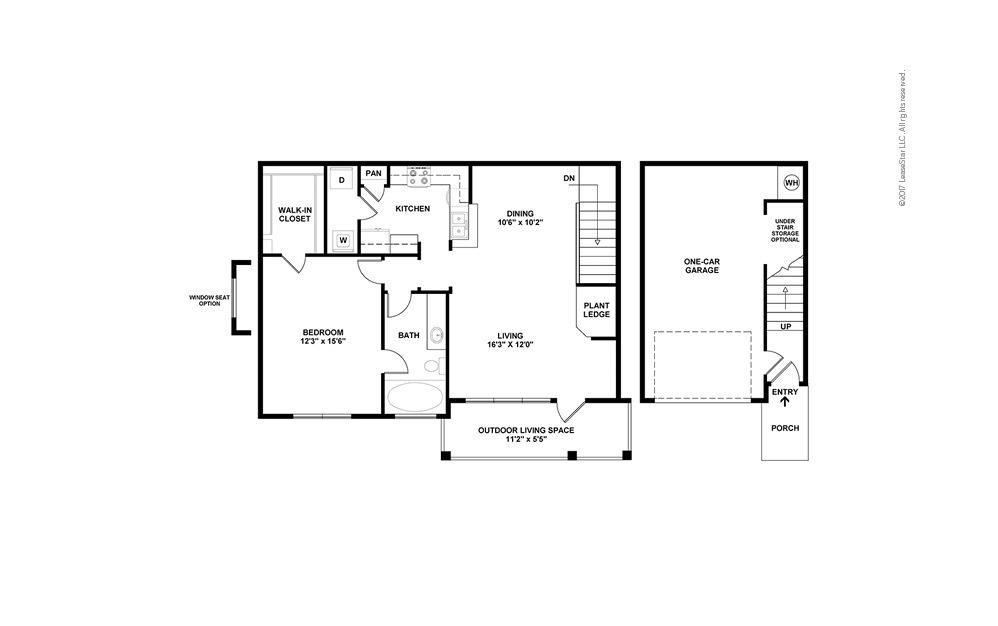 Maple Floor Plan Layout