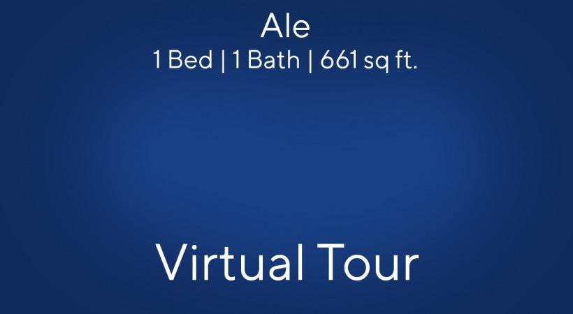 Ale Virtual Tour   1 Bed/1 Bath
