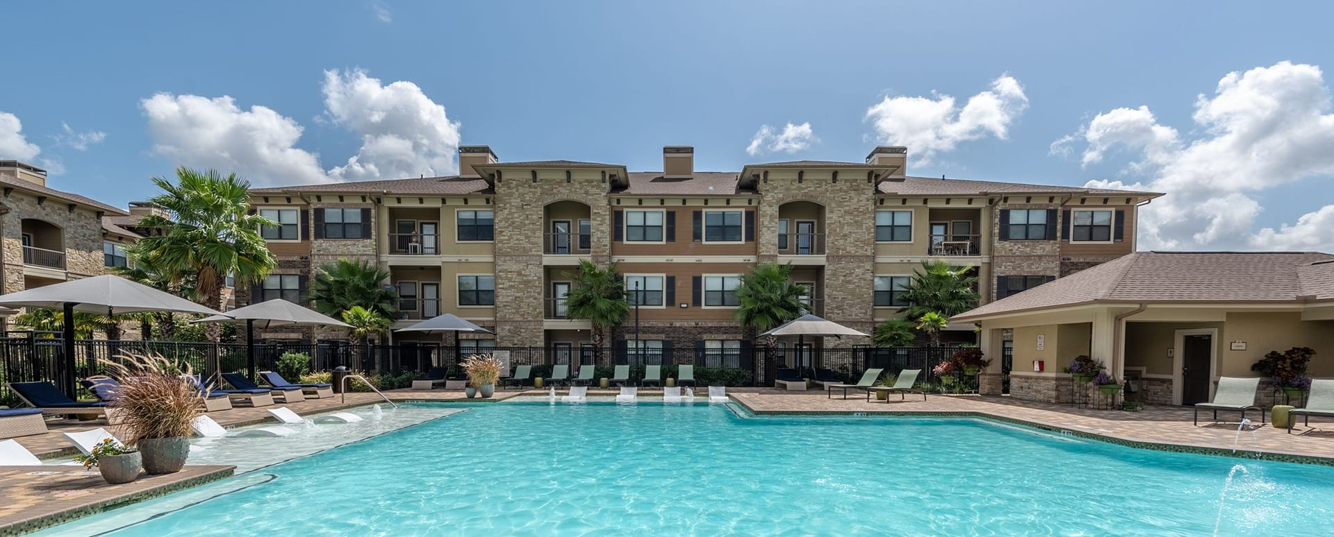 Resort style pool at Cortland Seven Meadows