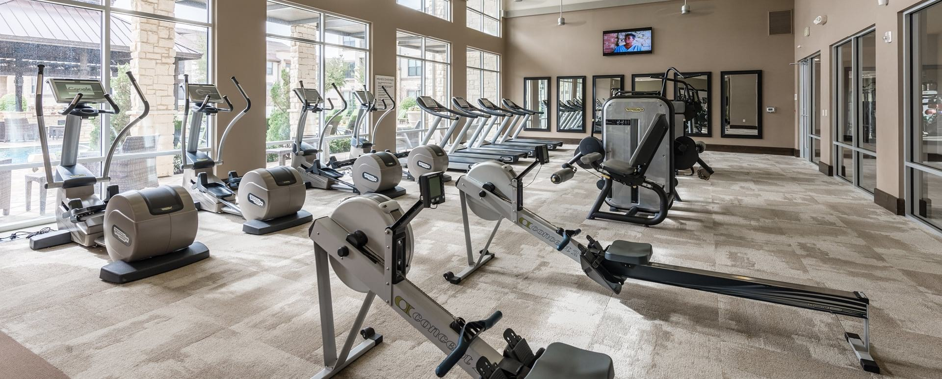 Colleyville apartments with fitness center