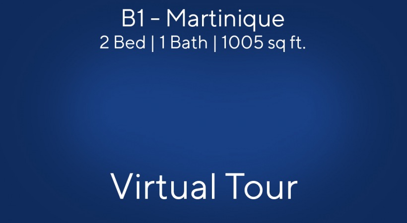 Martinique Virtual Tour | 2 Bed/1 Bath