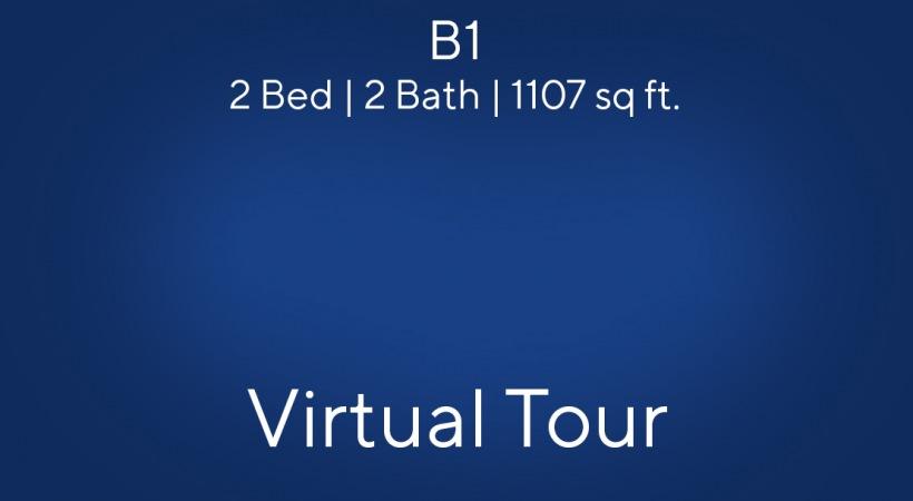 B1 Virtual Tour   2 Bed/2 Bath