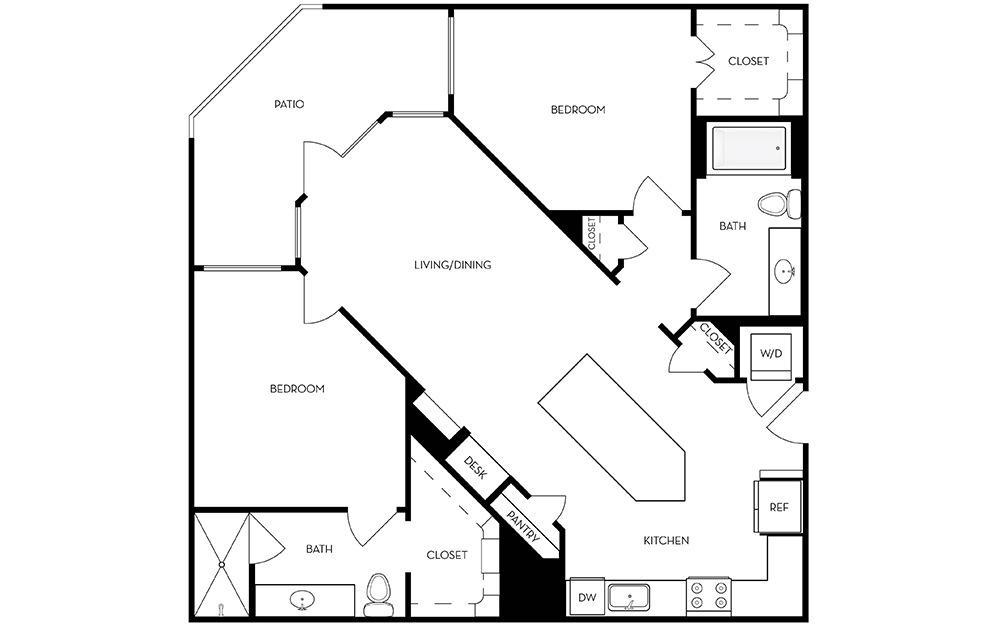 B2 layout