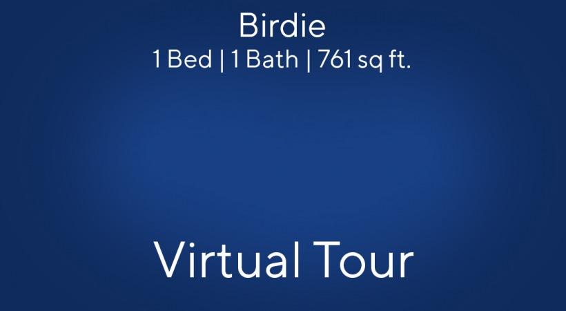 Birdie Virtual Tour | 1 Bed/1 Bath