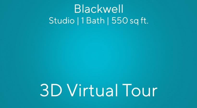 Blackwell Virtual Tour | Studio | 1 Bath