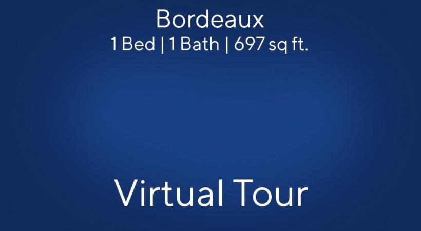 Bordeaux Virtual Tour | 1 Bed/1 Bath