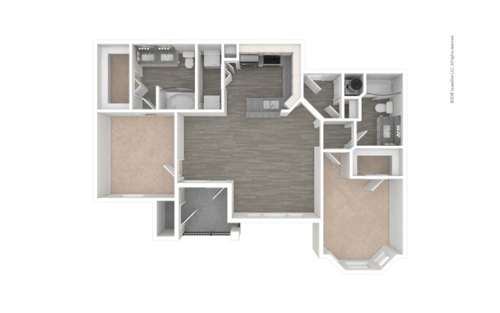 B2 - Bradshaw 2 bedroom 2 bath 1019 square feet (1)