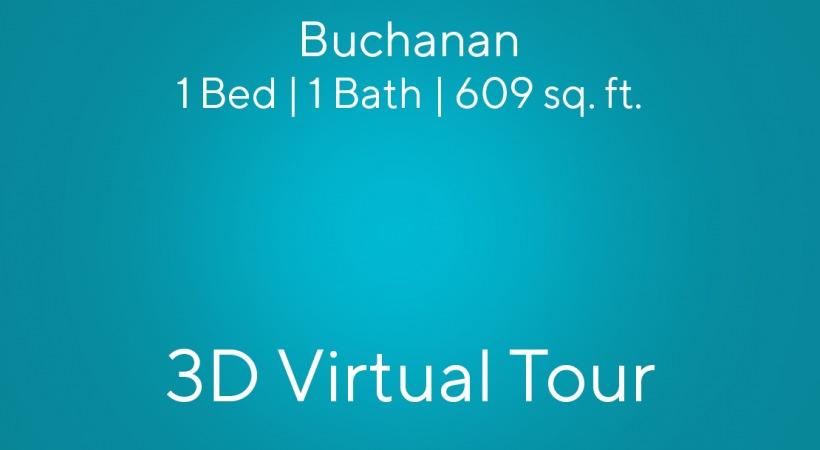 Buchanan Virtual Tour | 1 Bed/1 Bath