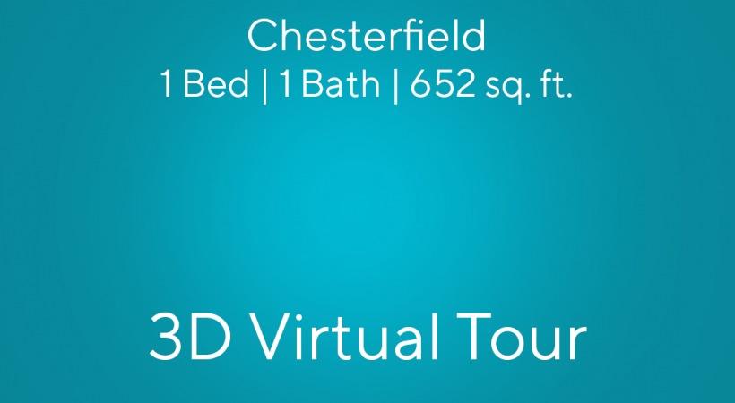 Chesterfield Virtual Tour | 1 Bed/1 Bath