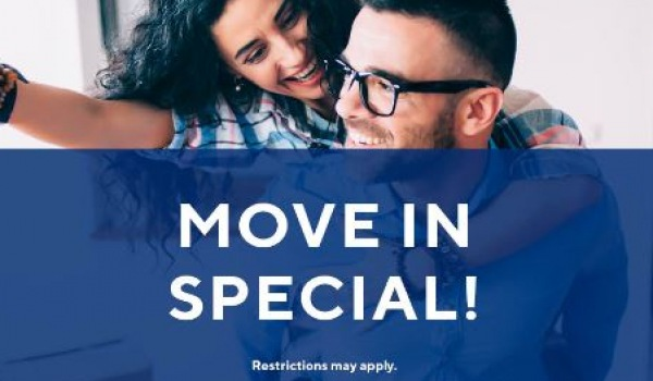 Half off deposit with approved credit on select floor plans*. Zoned to Klein ISD. Immediate move-ins welcome!