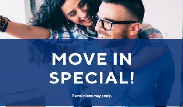 $0 app/admin fee. Immediate move-ins welcome!