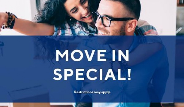 Move in Today! Pay just $49 for application & administrative fees!