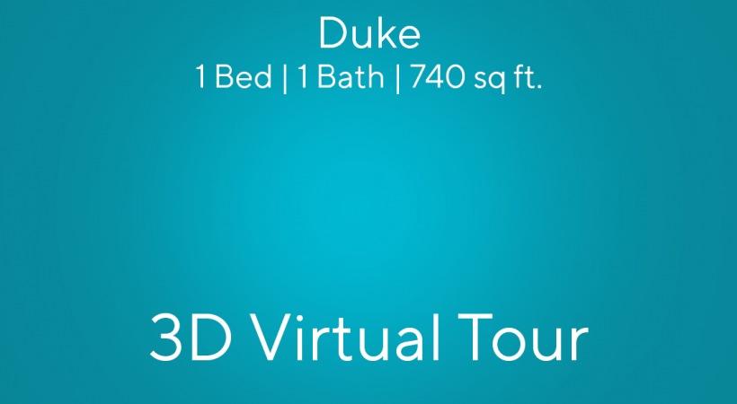 Duke Virtual Tour | 1 Bed | 1 Bath