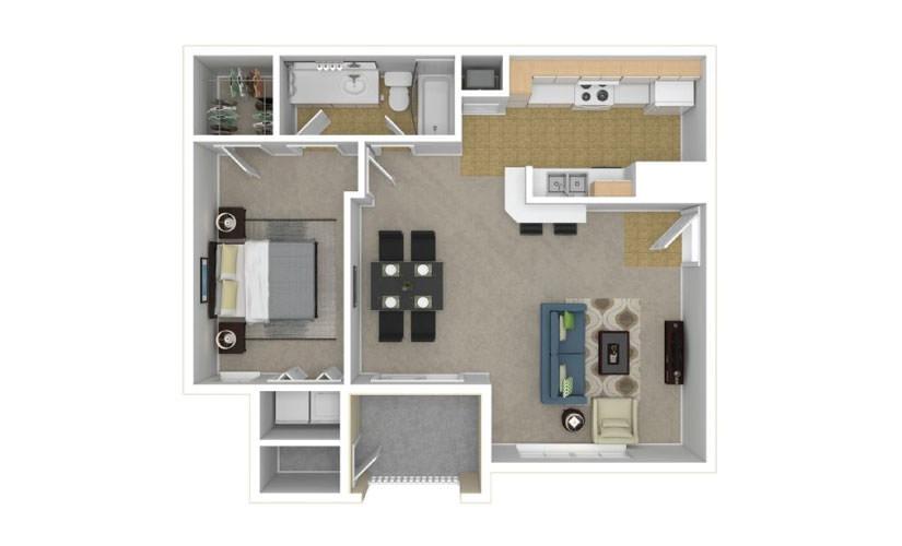 The Dursley Floor Plan