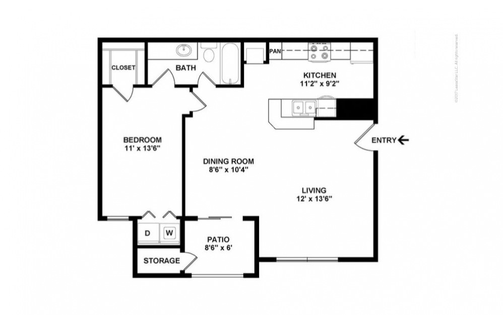 The Dursley Floor Plan—2D