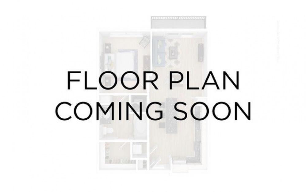 A21 - Hydrangea 1 bedroom 1 bath 939 square feet