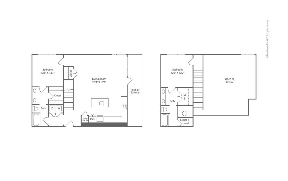 Sail 2 bedroom 2 bath 1413 square feet (2)