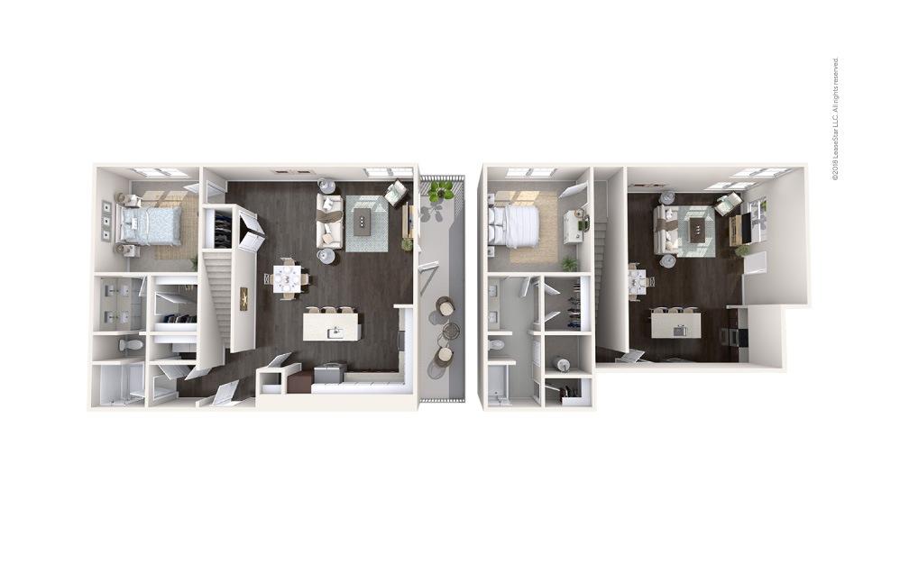 Sail 2 bedroom 2 bath 1413 square feet