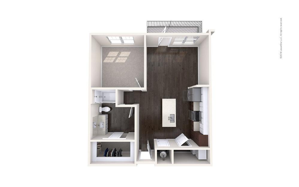 Beam 1 bedroom 1 bath 726 square feet (1)