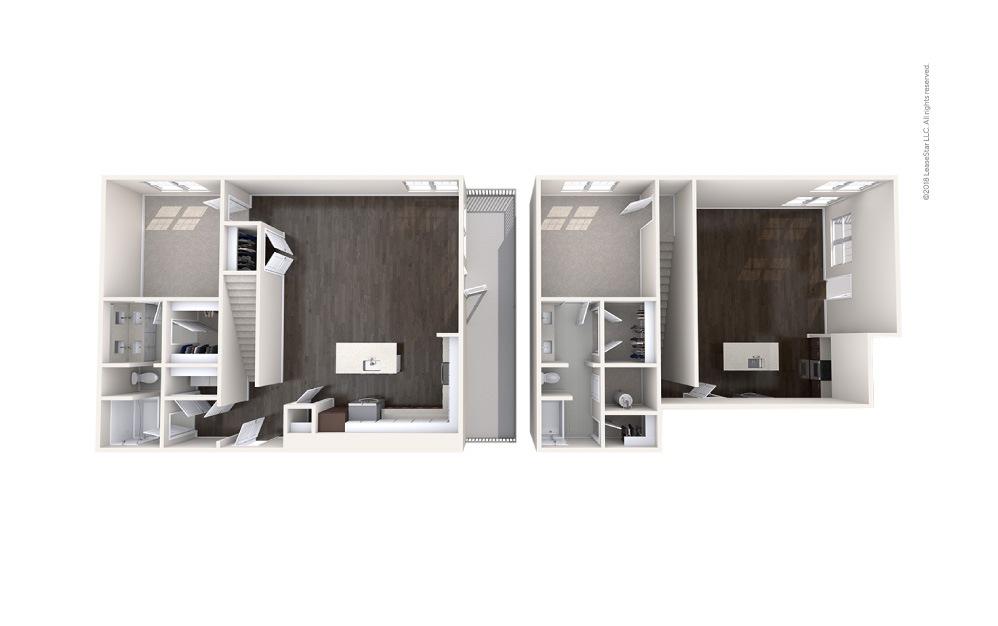 Sail 2 bedroom 2 bath 1413 square feet (1)