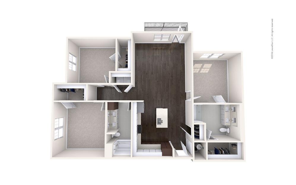 Trawler 3 bedroom 2 bath 1559 square feet (1)