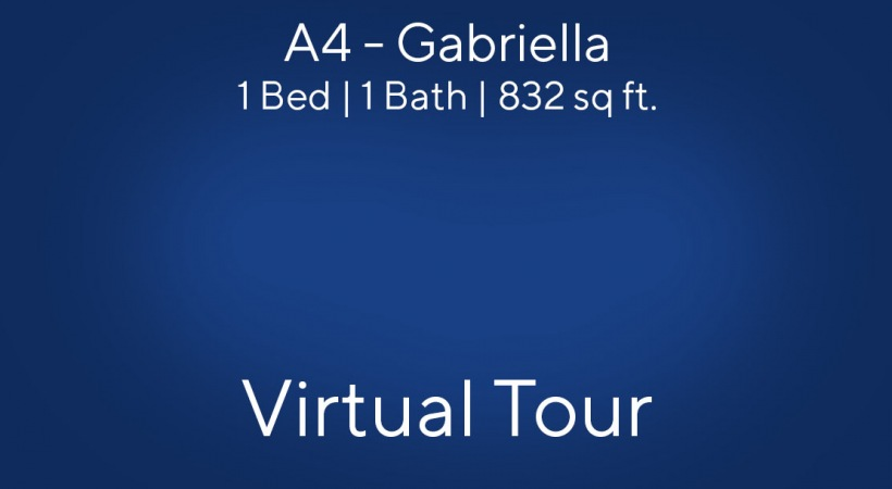 Gabriella Virtual Tour | 1 Bed/1 Bath