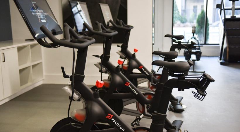 Fitness Center with Peloton® Bikes