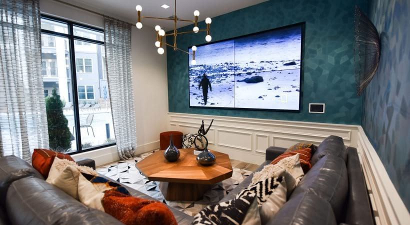 Resident Lounge with WiFi, HDTVs, a Party-Ready Kitchen, and More