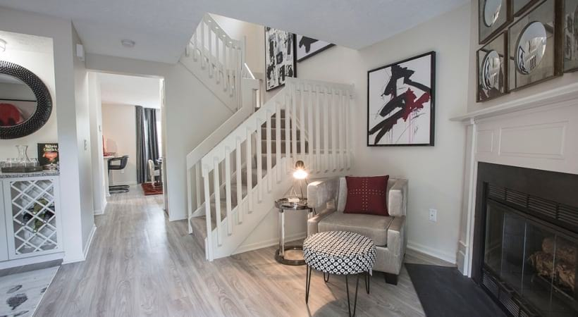 Townhome-Style Floor Plans