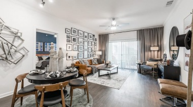 Spacious apartment floor plan at our South Austin apartments