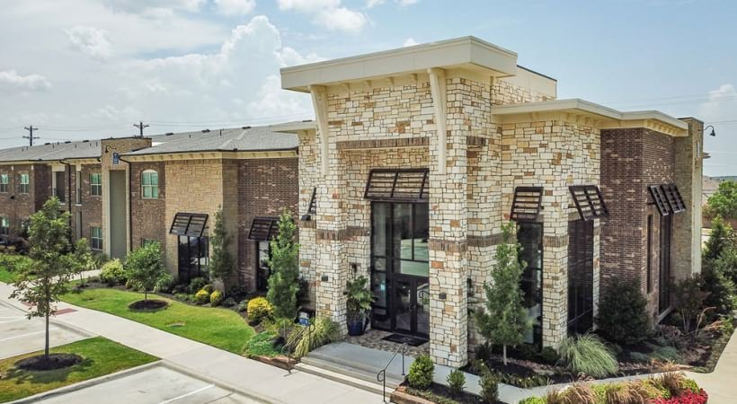 Street view of our apartments for rent in Little Elm, TX