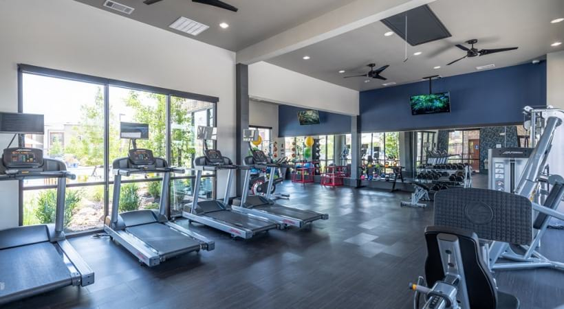 Our Frisco apartments with gym