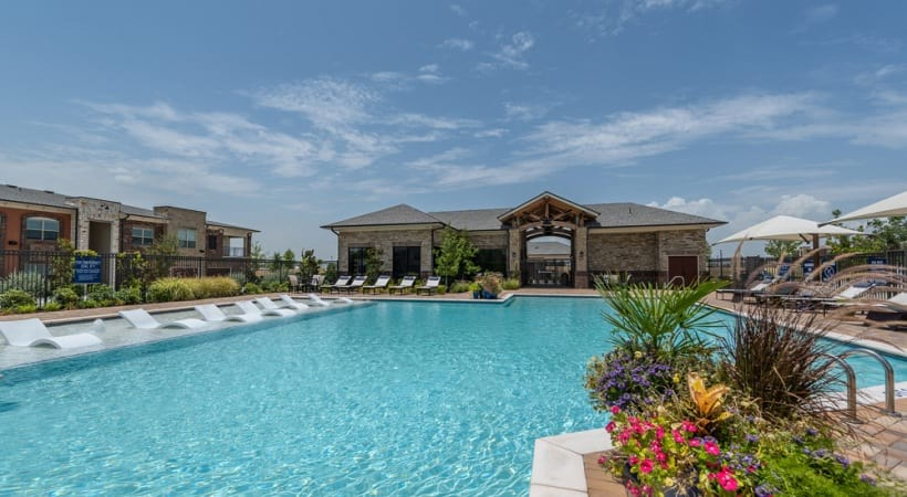 Our Frisco apartments with pool