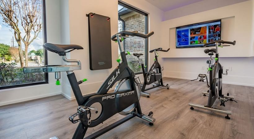 Spin studio at Town Center apartments