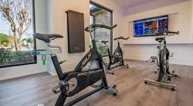 Spin Studio at Our Cortland Apartments