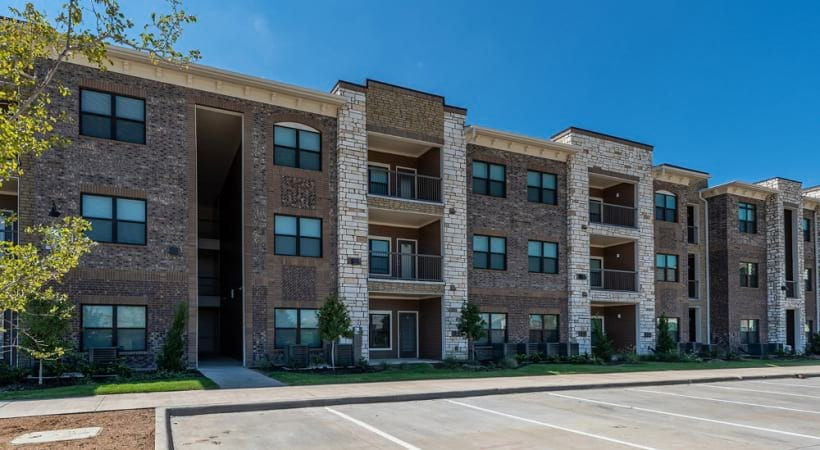 Street view of our Frisco apartments for rent