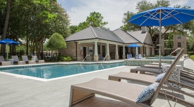 Resort Style Pool at Cortland Apartments For Rent