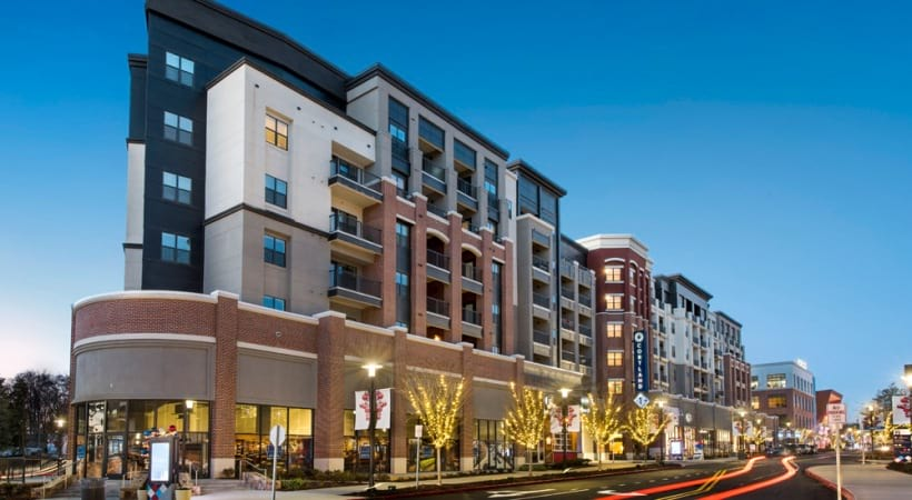 Street view of our luxury apartments in Smyrna, GA
