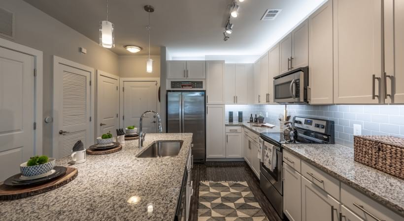 Spacious Apartment Kitchen at Our Brookhaven Apartments