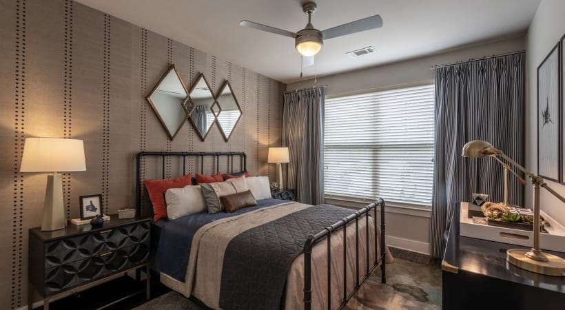 Modern Apartment Bedroom at Our North Druid Hills Apartments