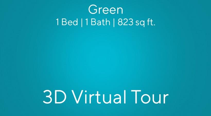 Green Virtual Tour   1 Bed   1 Bath