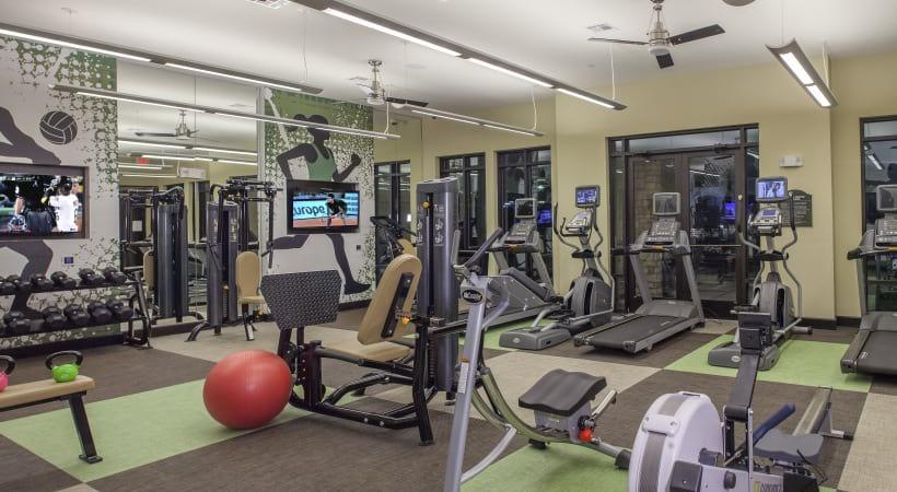 Fitness Center at apartment complex San Antonio TX