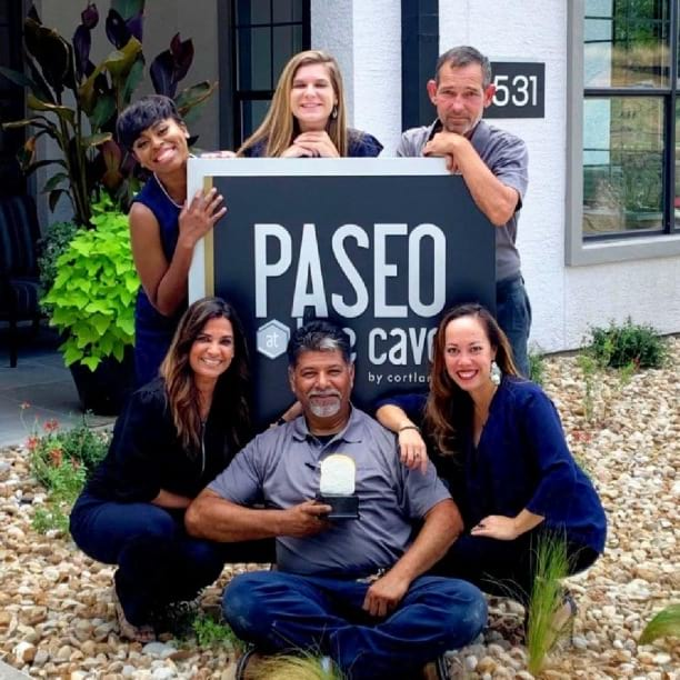 What a good-looking group! Meet our associates at Paseo at Bee Cave in Austin, TX. Want to enjoy your work as much as they do? Visit the link in our bio to see our available community positions!
