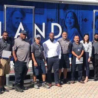 Our Mobile Training Unit made its final stop for 2019 in Florida. 81 associates attended the 5-day training in Orlando, Tampa and South Florida, learning advanced HVAC skills, OneSite tips, and Pest Management. The MTU, or