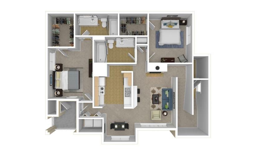 The Ivy Glen Floor Plan