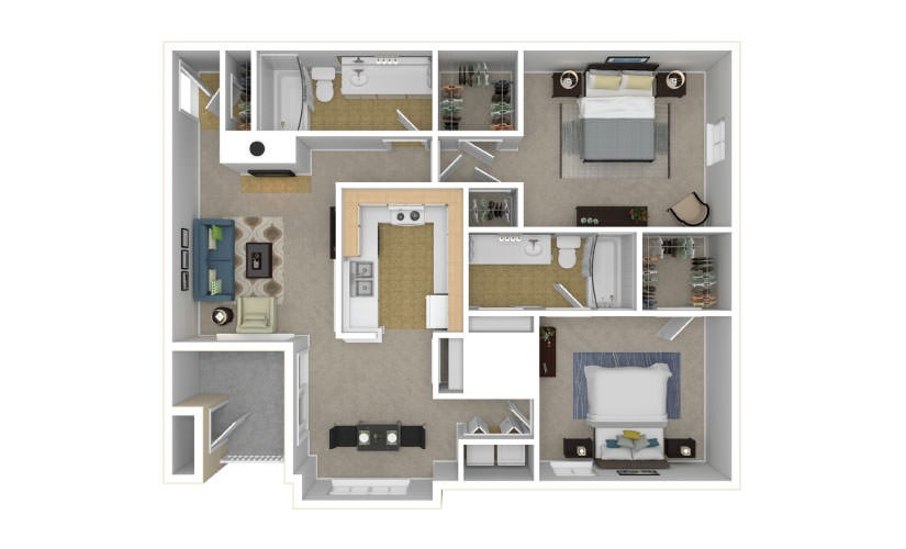 The Kensington Floor Plan