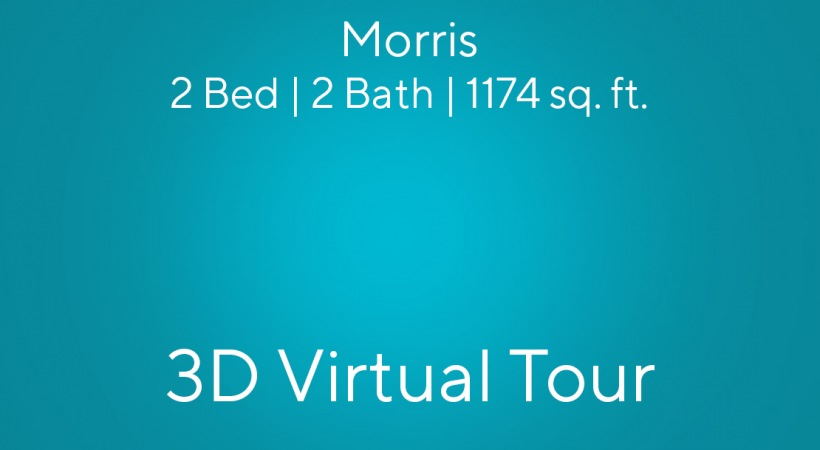 Morris Virtual Tour 1 | 2 Bed/2 Bath